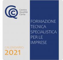 Centro Qualità Carta calendario corsi 2021